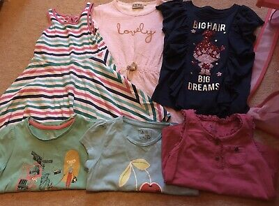 6 Piece Bundle Inc. Dresses, T-Shirts & Vest, Size 3 Years From Next & GAP