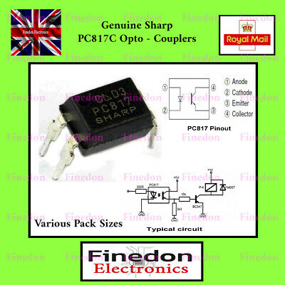 EL817 PC817 EL817C Transistor Output Optocoupler IC UK Seller