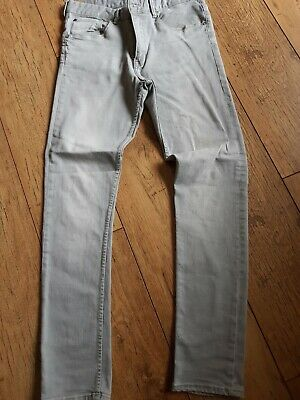 H&M Grey Boys Jeans Size 14 Years