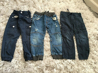 Boys Clothes Jeans And Trousers Age 3-4 Years