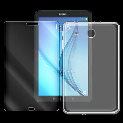 """2in1 Screen Protector TPU Cover Case for Samsung Galaxy Tab E 8.0"""" T377A/V/P/T"""