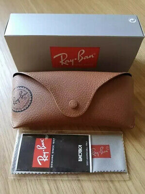 Ray Ban Brown Sunglasses Case Cloth & Box Included
