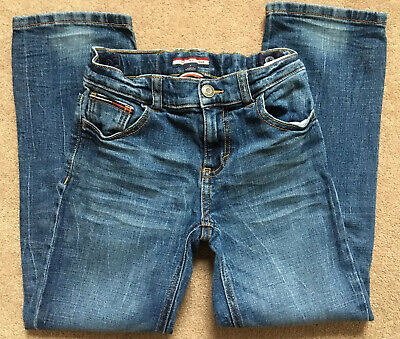 Boys Tommy Hilfiger Jeans Age 7 Years Adjustable Waist