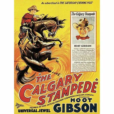 Vintage Style 1920s Western Rodeo Poster Tombstone AZ Rodeo 20x24