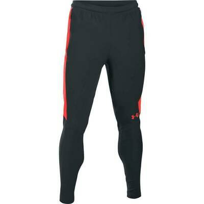 Under Armour UA Men's Threadborne Pitch Trousers - Charcoal/Pink - New