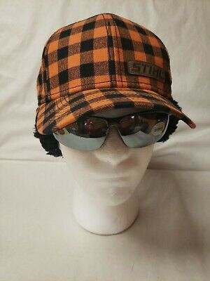 Officially licensed Stihl Buffalo Plaid Trapper Hat