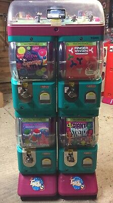 Tomy Gacha Toy Vending Machine -Business Opportunity Great Profits £1 Vend X 4