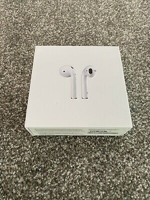 Apple AirPods 2nd Generation And Wireless Charging Case Brand New