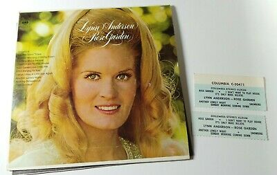 1971 Lynn Anderson Rose Garden 33 RPM Jukebox EP VG++ 45 RPM Record 6 Song
