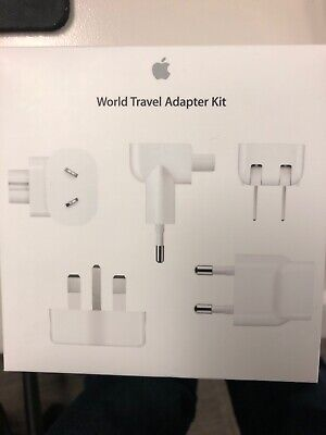 Genuine Apple World Travel Adapter Kit (MD837AM/A) -- BRAND NEW!