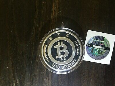 FINITE BY DESIGN FD 1/10 BTC SILVER-RARE- unfunded- like bit coin CASASCIUS
