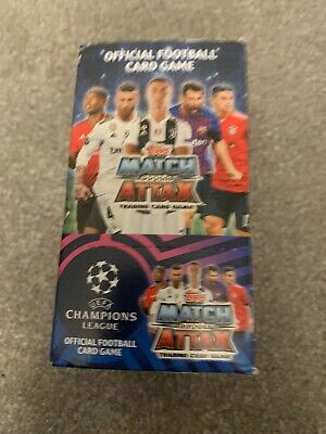 Topps Match Attax Champions League Cards  2018/19  box