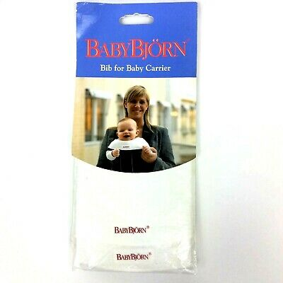 Baby Bjorn Bibs For Baby Carrier Pack Of 2 White Newborn Infant
