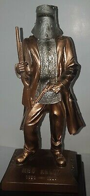 Ned Kelly Statue/Figurine A Defiance Stand. Copper Colour 12.5cm Tall