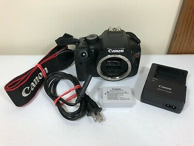 Canon EOS Rebel T2i 18.0MP Digital Camera - Black (Body Only)