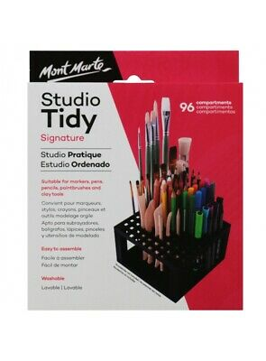 Brand New Mont Marte Studio Tidy Painting Supplier Storage 96 compartments