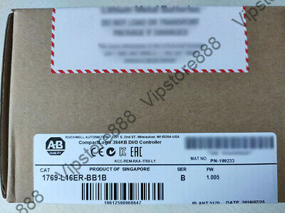 SEALED Allen Bradley 1769-L16ER-BB1B CompactLogix 384KB Processor QTY+Warranty