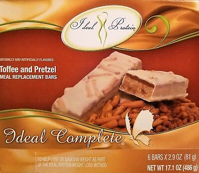 Ideal Protein - Ideal Complete Toffee and Pretzel Meal Replacement Bar