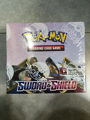 SWSH01 Pokemon Sword & Shield Sealed Booster Box (36 Booster Packs) 1 Box