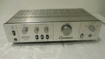 Vintage Sony Intergrated Amplifier TA-1700 1975-78 working