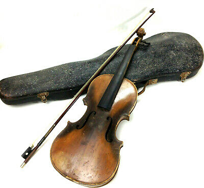 Old Antique 4/4 Full Size Violin Andreas Amati Fecit Cremonae Anno 1617