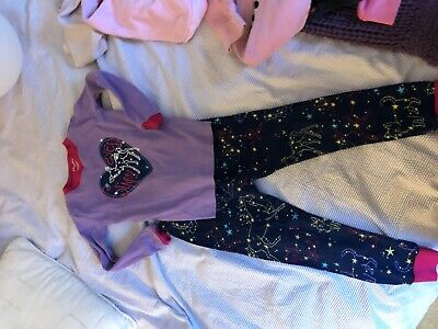 Hatley pyjamas glow in dark aged 4 years girl
