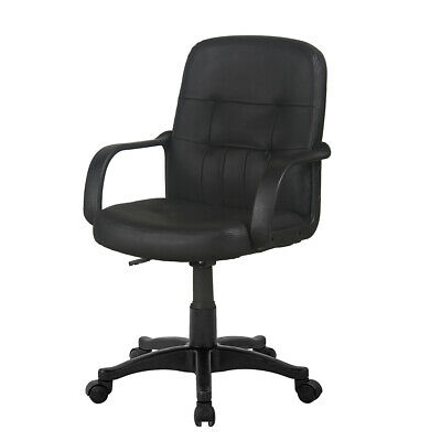 Executive Racing Gaming Office Chair Swivel Padded PU Small Computer Desk Chairs