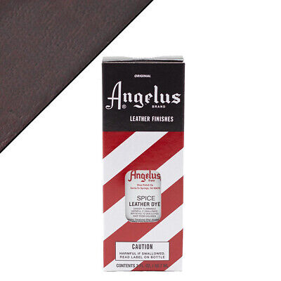 C--096 Angelus Permanent Leather Dye With Applicator 3Oz Spice