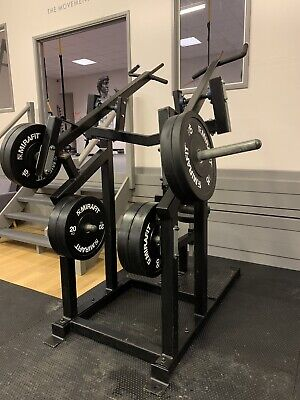 Powerfabs Plate Loaded Lat Pulldown Commercial Gym Equipment Iso-Lateral