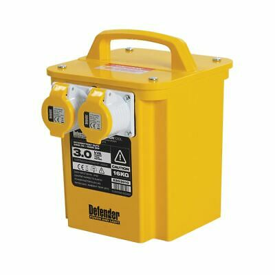 Defender E203010 110V 3000W 3kVA Portable Transformer