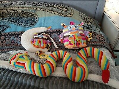 Jellycat Baby Bundle snake owl and moon