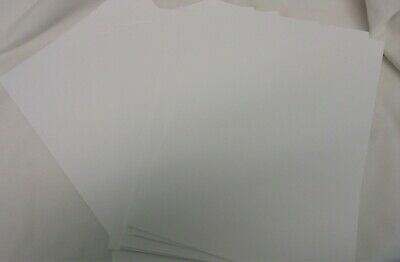 A4 Sheets of White Coloured Card ~ 300gsm ~ Craftroom Clearout
