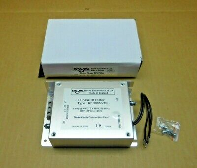 1 Nib Rasmi Rf3005-V1K Rf3005V1K 3 Phase Rfi Filter 5A 5 Amp 480V (18 Avail)