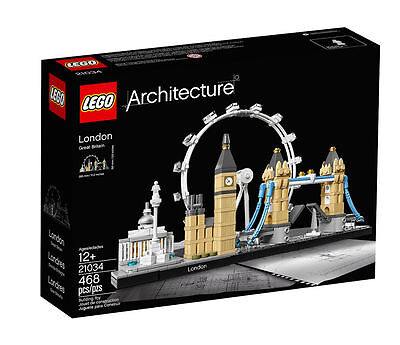 Lego Architecture London 21034. New/Boxed. Age 12 Plus.