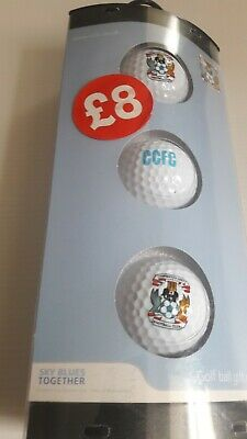 Coventry City Official Golf Ball Set