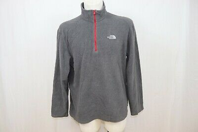 The North Face Man's Polartec Fleece Half Zipped Hiking Outdoor Top/ Jacket sz L