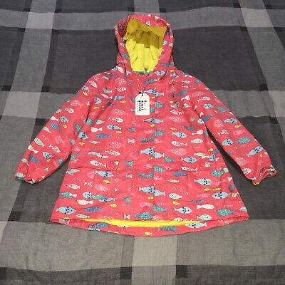 Girls Little Light House Coat Age 5-6 Yrs Pink Excellent Condition 100% Genuine