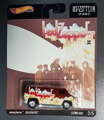 2020 Hot Wheels LED ZEPPLIN II ~ SUPER VAN 2/5 POP CULTURE ~ BOX SHIP FREE