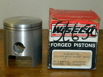 Wiseco Forged Pistons 624PS Standard Polaris SL650 1992 PISTON ONLY