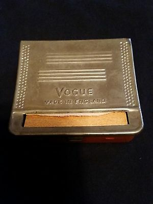 Vogue Cigarette Rolling Machine - Made in England