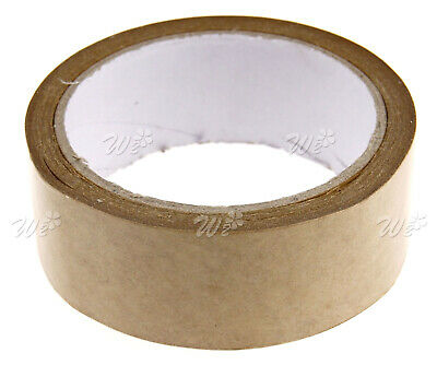 Arts Crafts Picture Brown Self Adhesive Backing Tape 50m x 38mm Decoration