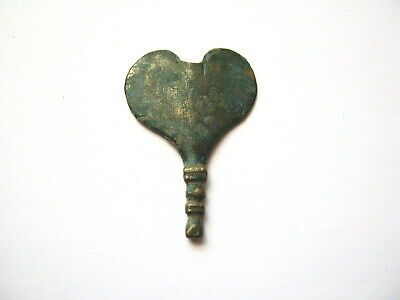 Ancient Roman Bronze Phallic Strap End ca.2nd-3rd Century AD (02)