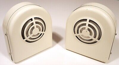 NUTONE VINTAGE 1960S 1970s INTRUDER ALARM SYSTEM HORN PAIR S-132 NEW OLD STOCK
