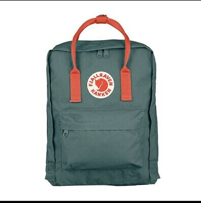 Fjallraven Kanken Waterproof Sport Backpack Unisex Rucksack Forest green / Pink