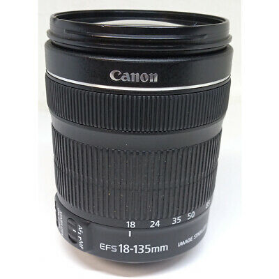 Canon Zoom Lens EFS 18-135mm Image Stabilizer Macro 0.39m/1.3ft 1:3.5-5.6 IS STM