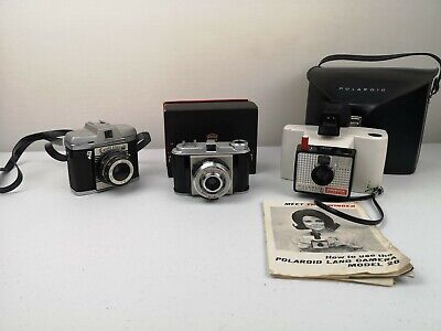 Film Camera Vintage Collectable Collection: Polaroid, Viscount & Empire Scout