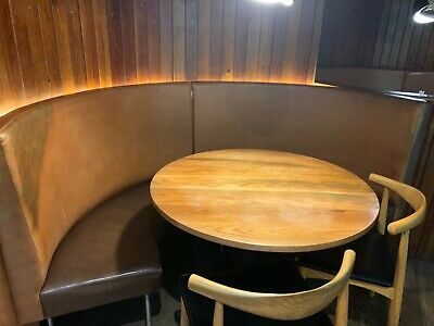restaurant booth seating x1 (3available)