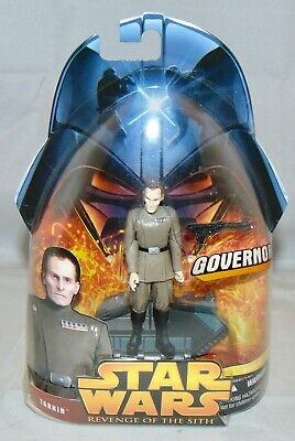 """New Star Wars Revenge Of The Sith 3.75"""" Tarkin Action Figure Sealed #45 ROTS"""