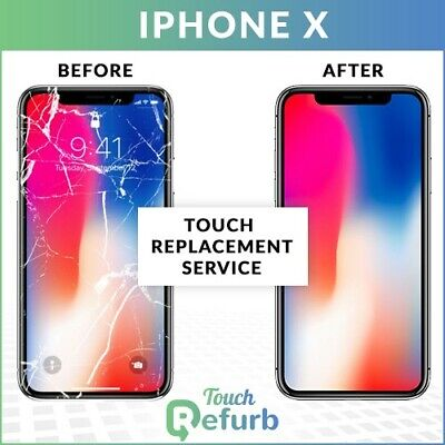 Apple iPhone X Original LCD Front Glass Repair Service - Touch replacements