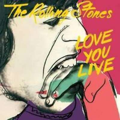 Love You Live Remaster 2009 - Rolling Stones The 2 CD Set Sealed ! New !